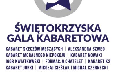 Skład Świętokrzyskiej Gali Kabaretowej 2018