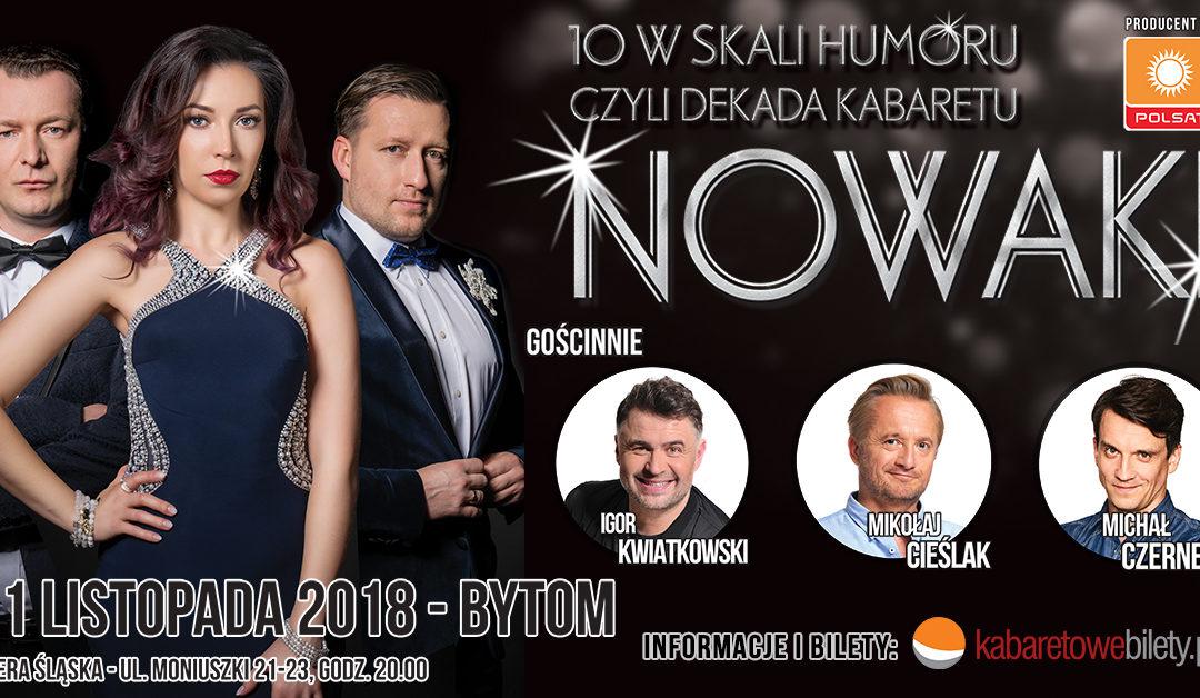 10 w skali humoru – czyli dekada Kabaretu Nowaki