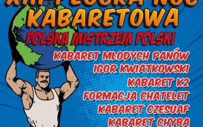 XIII Płocka Noc Kabaretowa