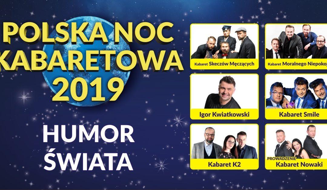 Trasa Polskiej Nocy Kabaretowej 2019 dobiegła końca!