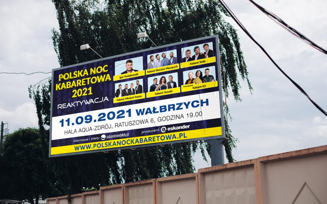 Polska Noc Kabaretowa w Waszych miastach